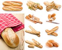 国外早餐面包摄影高清图片