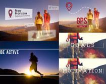 登山运动员摄影高清图片
