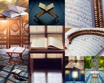 书本文化摄影高清图片