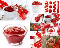 番茄酱食物摄影高清图片