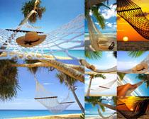 沙滩风光休闲摄影高清图片