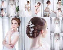 欧美婚纱美女写真摄影高清图片