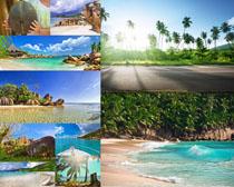 海滩风景摄影高清图片