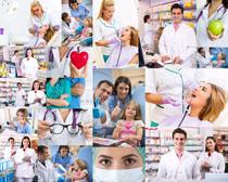 医生与病人摄影高清图片