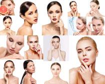 美容肌肤女人摄影高清图片