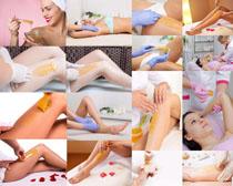 SPA护理美女摄影高清图片
