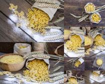 小麦粉食物摄影高清图片