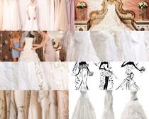 美丽的婚纱摄影高清图片