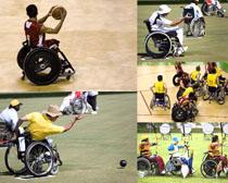 残疾运动员摄影高清图片