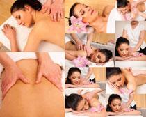 护理SPA美女摄影高清图片