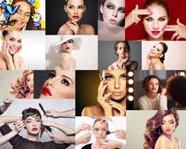 国外化妆美女摄影高清图片