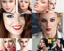 化妆脸部美女摄影高清图片