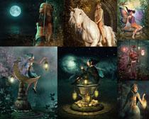 游戏精灵人物摄影高清图片