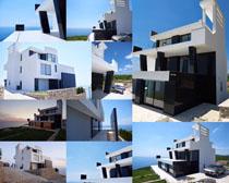 建筑楼房别墅摄影高清图片