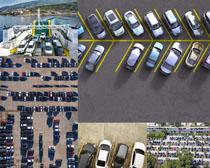 停车场汽车摄影高清图片