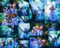 森林公主美女摄影高清图片