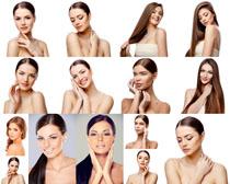 欧美美白肌肤女子摄影高清图片