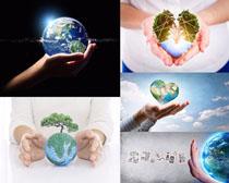 地球环保与关爱摄影高清图片