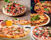 国外披萨食物拍摄高清图片