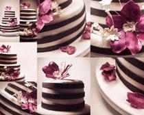 花朵巧克力攝影高清圖片
