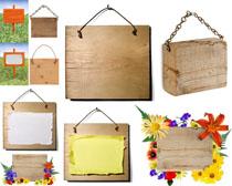 装饰木板块摄影高清图片
