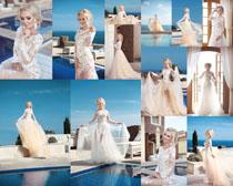 婚纱欧美女人写真高清图片