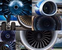 飞机引擎拍摄高清图片