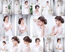 漂亮的新娘写真摄影高清图片