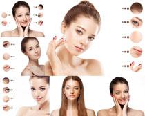 美女美容肌肤摄影高清图片