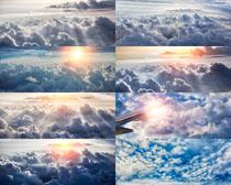 天空云朵阳光摄影高清图片