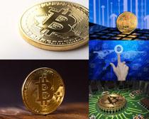 商务金币摄影高清图片