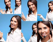 微笑职业女士摄影高清图片