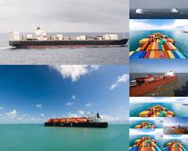 海洋运输货船摄影高清图片