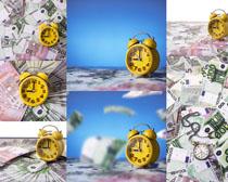 时间金钱金融摄影高清图片
