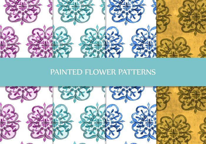 爱图首页 ps素材 ps图案 > 素材信息   关键字: 手绘花朵填充图案ps