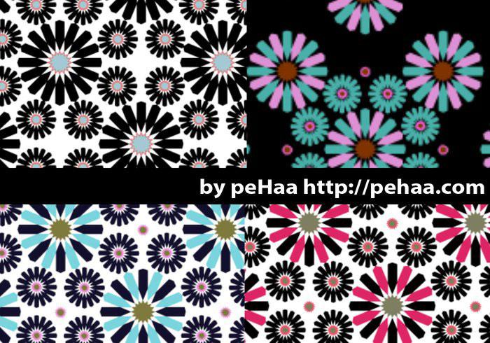 太阳花图案素材 - 爱图网设计图片素材下载
