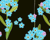 植物花卉PS填充图案