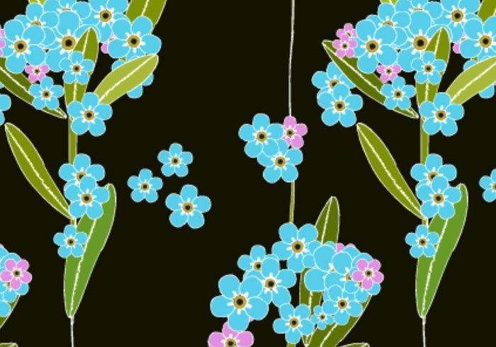 植物花卉ps填充图案 - 爱图网设计图片素材下载