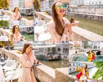 欧美风情女子摄影高清图片