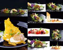 国外拼盘美食摄影高清图片