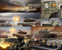 軍事坦克攝影高清圖片
