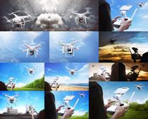 航空拍摄机器摄影高清图片