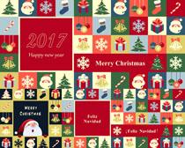 圣诞节日图标摄影高清图片