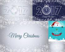 2017圣诞背景摄影高清图片