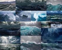 大海风浪摄影高清图片