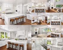 欧式厨房装修风格摄影高清图片