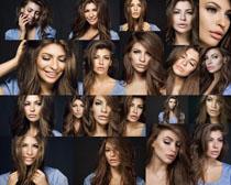 欧美发型美女摄影高清图片