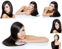 黑发美女摄影高清图片