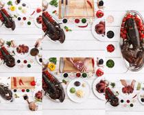 澳龙海鲜美食摄影高清图片