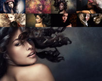 艺术发型美女摄影高清图片